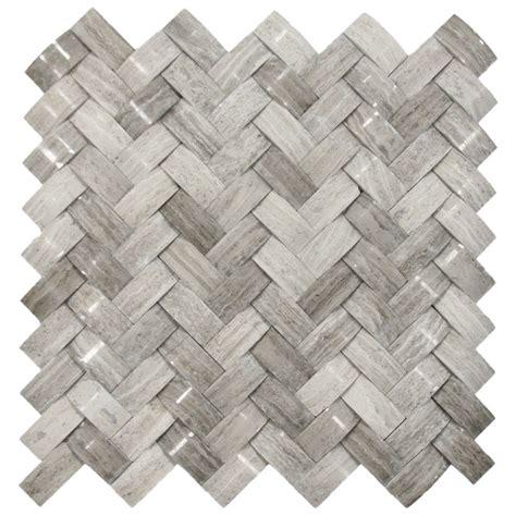 basket weave tile cnk tile pebble tiles 3d polished grey basket weave tile