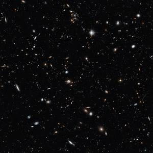 A cross-section of the Universe | ESA/Hubble