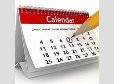2019 Teacher Preparation Calendar School of Education