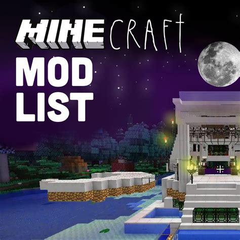 Minecraft Mod List Ihascupquake