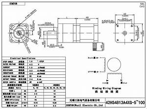 Ratio 5 1 Nema 17 Planetary Reduction Gear Stepper Motor