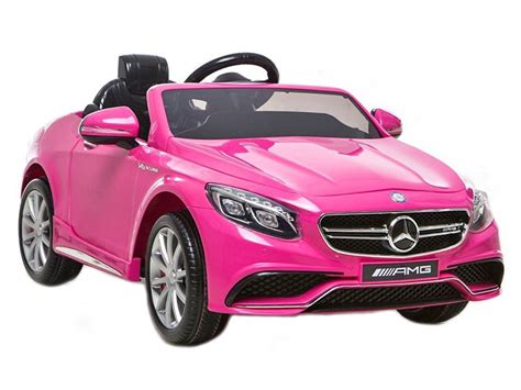 Mercedes S63 Amg Kids Electric Cars Official Replica Toy