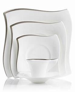Villeroy New Wave : villeroy boch new wave premium platinum dinnerware ~ Watch28wear.com Haus und Dekorationen