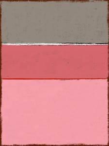 tableau original sur toile plexi rose gris style rothko With gris bleu peinture 2 tableau jaune creation abstraite format vertical deco