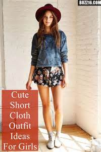 Cute Short Outfit Ideas for Girls