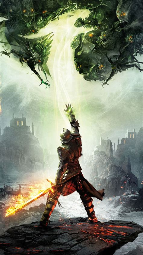 Dragon Age Game Iphone 6+ Hd Wallpaper Hd  Free Download