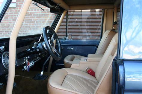 ford bronco custom suv