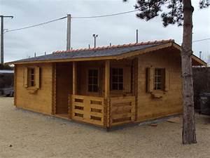 Chalet En Bois Habitable Livré Monté : chalet en bois habitable livr mont l 39 habis ~ Dailycaller-alerts.com Idées de Décoration