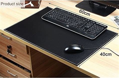 tapis de bureau personnalisé vente chaude en cuir bureau pad pour ordinateur souris ou