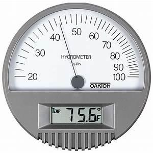 Oakton Hygrometer  Thermometer