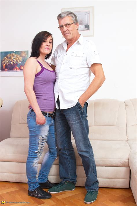 Hot Horny Teen Doing A Dirty Old Man