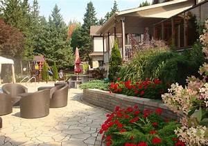 Cour De Maison : am nagement cour arri re am nagement jardin terrain sherbrooke ~ Melissatoandfro.com Idées de Décoration