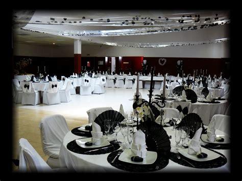 decoration table mariage noir et blanc decormariagetrnds