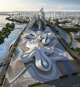 FUTURISTIC ARCHITECTURE by Zaha Hadid Architects ...