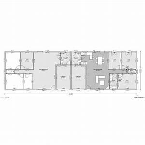 plan maison mitoyenne maison moderne With plan de maison mitoyenne