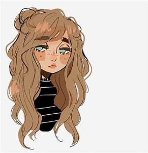 Lazy Girl, Cartoon Girl, Curls, Europe PNG Image for Free ...