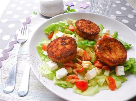 la cuisine grecque salade de chèvre chaud au rocamadour cuisine addict