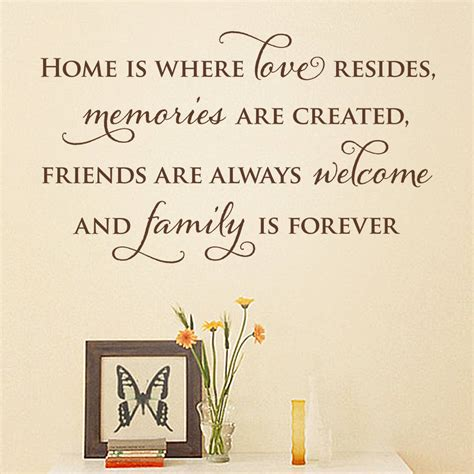 home  quote wall sticker  making statements