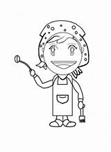 Coloring Cooking Mama Pages Few Printable sketch template