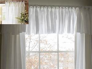 diy easy no sew window valance pottery barn inspired With simple window valances