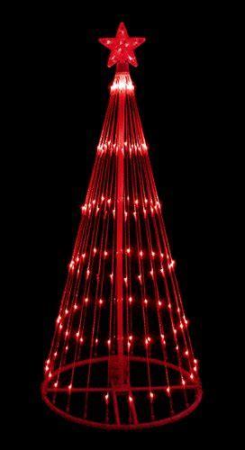 discount deals 6 led light show cone tree