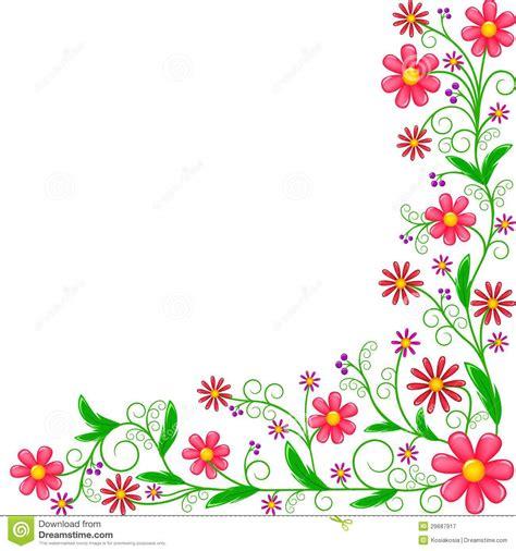printable flower patterns clipart