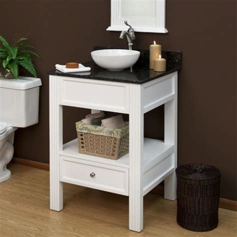 small cabinet for vessel sink great option for vessel sink and small powder room space