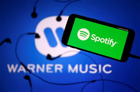spotify s deal with warner clears path to going