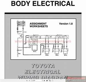 Toyota Electrical Wiring Diagram Workbook