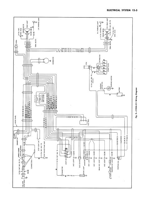 1956 Chevy Truck Wiring Diagram by Wrg 4274 12 Volt Wiring Diagram For 1956 Chevy