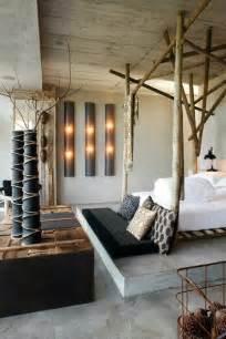 Safari Inspired Living Room Decorating Ideas by D 233 Coration De Chambre 55 Id 233 Es De Couleur Murale Et Tissus