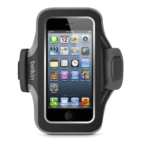 iphone 5s armband belkin slim fit plus armband for iphone 5 5s