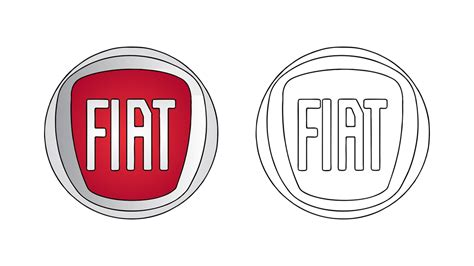 Fiat Emblem by How To Draw The Fiat Logo Symbol Emblem