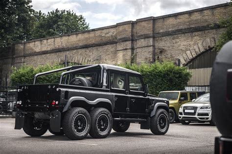 Land rover discovery ls conversion. Custom Land Rover Defender 6x6 Features GM LS3 Engine   GM ...