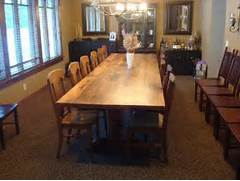 Farmhouse Dining Room Table Seats 12 by 12 Foot Dining Room Table Fits 12 To 14 People Comfortably It 39 S A Red Oa