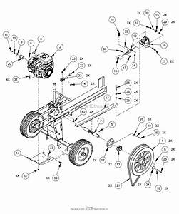Dr Power Main Spiltter Parts Diagram For Drive Assembly