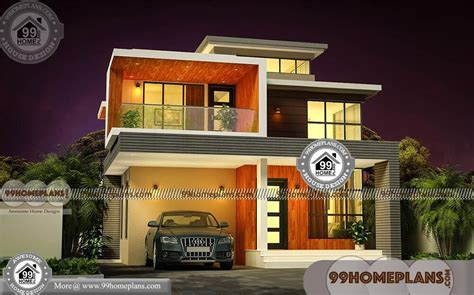 feet   feet house plans  elevations cost effective designs