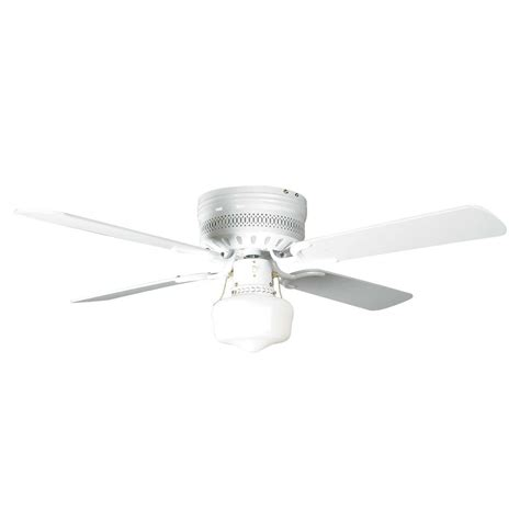 small white ceiling fan concord fans 42 quot small white low profile hugger ceiling