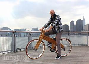 First Wooden City Bike by Bough Bikes Hits the Streets of