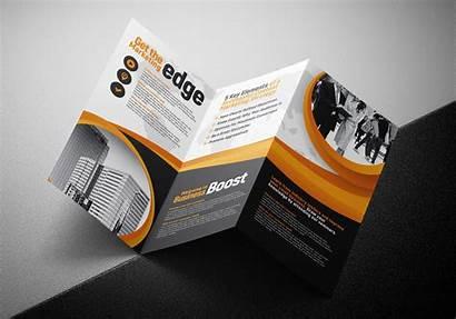 Brochure Fold Tri Template Marketing Seminar Folding