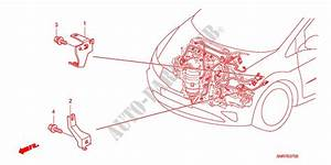 Engine Wire Harness Stay  1 4l   1 8l   2 0l  For Honda