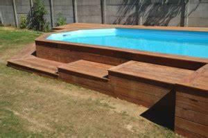 Amenagement Autour Piscine Hors Sol : terrasse bois autour d une piscine hors sol ~ Nature-et-papiers.com Idées de Décoration