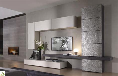 Parete soggiorno in pietra Tommy Arredo Design Online
