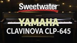 Yamaha Clavinova Clp 645 : yamaha clavinova clp 645 digital piano review sweetwater ~ Blog.minnesotawildstore.com Haus und Dekorationen