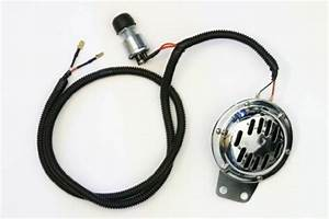 New Golf Cart Horn Kit W   Button Wire Harness 12v Club Car
