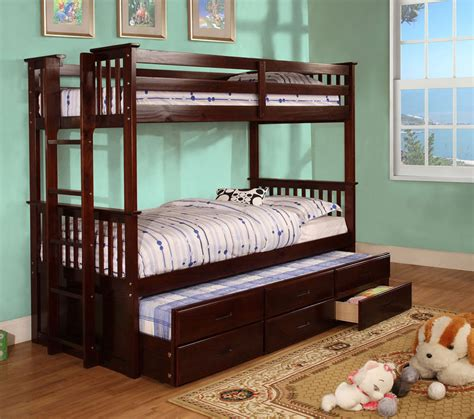 classic trundle bunk bed