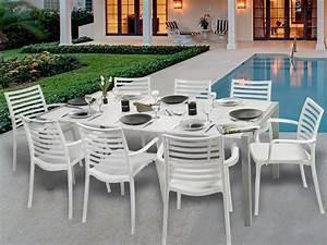 Salon De Jardin Table : mobilier jardin grosfillex ~ Teatrodelosmanantiales.com Idées de Décoration