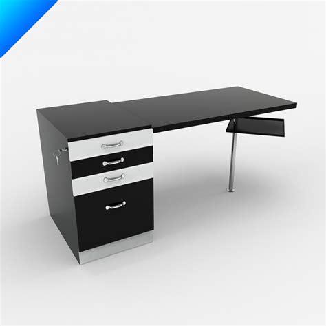 breuer desk marcel breuer writing desk 3d model