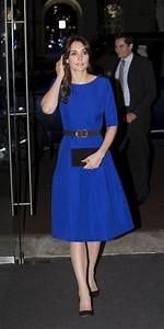 Kate Middleton Looks Stunning In Blue Dress By Indian Designer