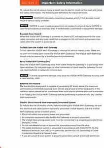 Viasat Rg1100 Afterburner Wireless Home Gateway User Manual